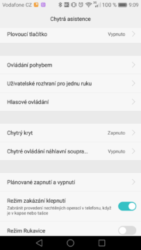 Huawei Mate 8 nastavení 4