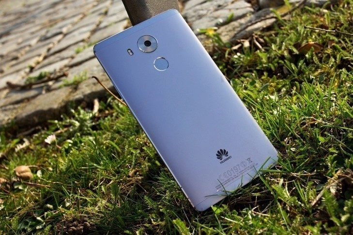 Huawei Mate 8 záda