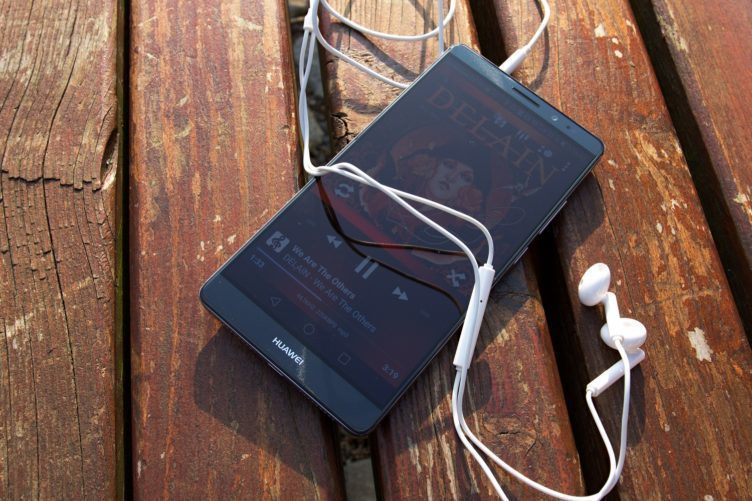 Huawei Mate 8 zvuk