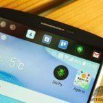 Sekundární displej na LG V10