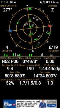 Lenovo P70 - GPS satelity