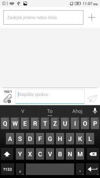 Lenovo P70 - klávesnice