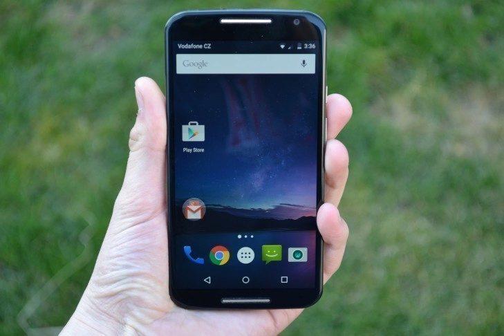 Motorola Moto X (2014) - displej - 1
