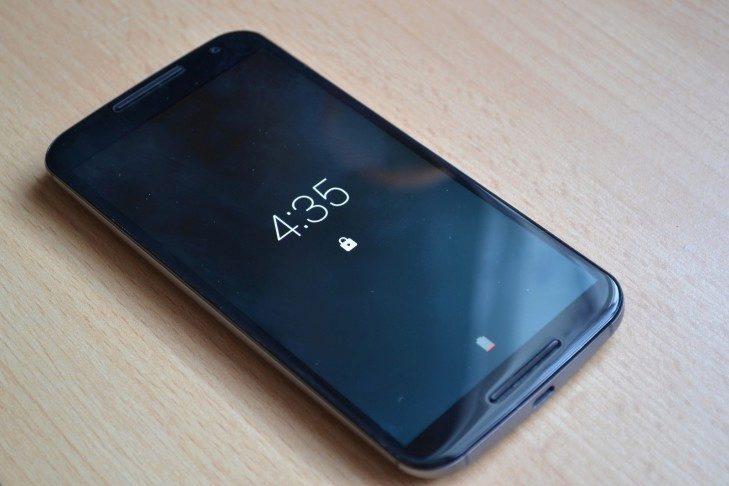 Motorola Moto X (2015) - aktivní notifikace