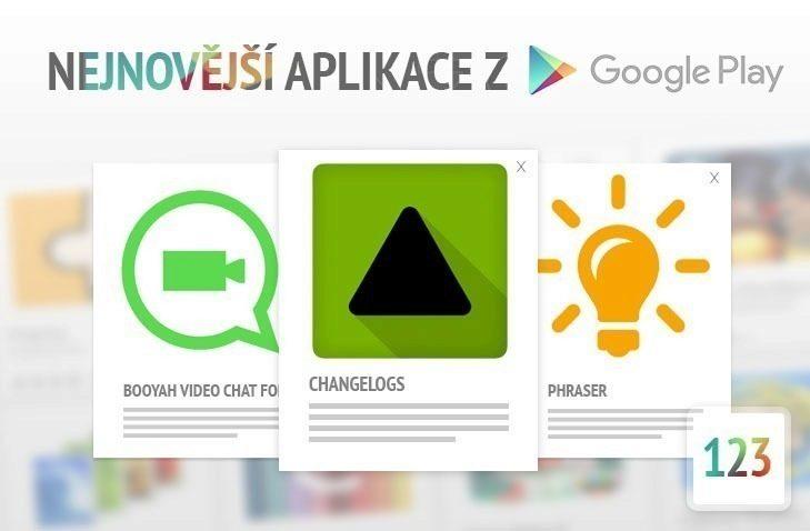 Nejnovější aplikace z google play 123