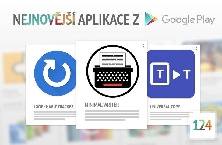 Nejnovější aplikace z google play 124