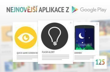 Nejnovější Android aplikace z Google Play #125: Nahrávání her a vlastní notifikace