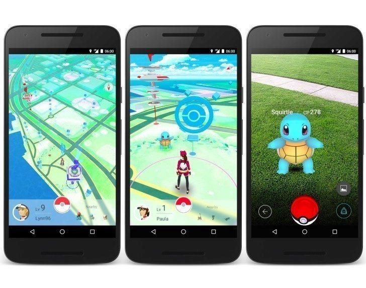 Pokemon Go - první pohled na hru