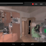 Project Tango - mapování místnosti 1