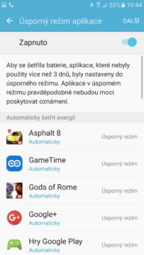 Samsung Galaxy S7 úsporný režim (2)