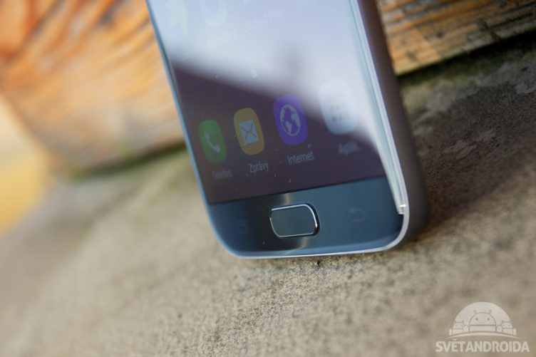 Samsung Galaxy S7 čtečka otisků