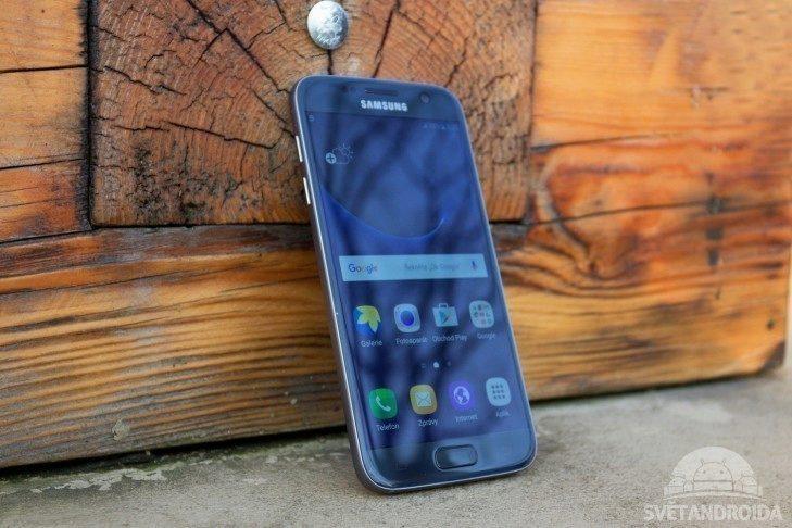 Samsung Galaxy S7 přední strana
