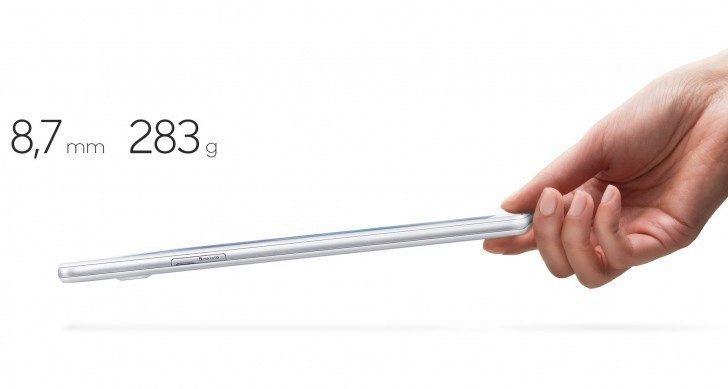 Samsung Galaxy Tab A - press render