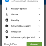 Aplikace je nutné znovu instalovat