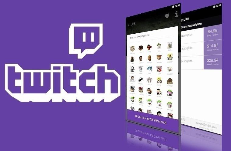 Twitch – placené odběry – náhleďák