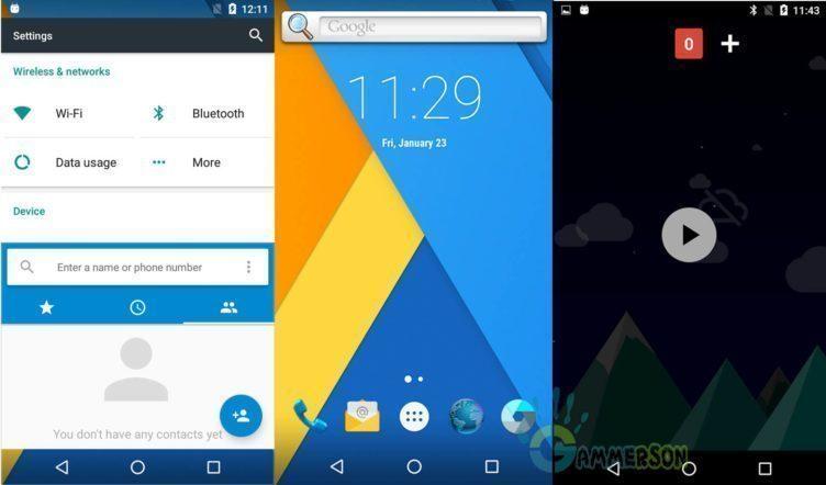 CyanogenMod 13 je postavený na Androidu 6.0 Marshmallow