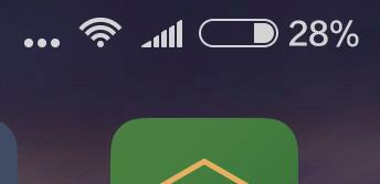 Xiaomi Mi4S - baterie
