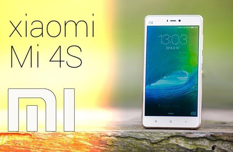 Xiaomi Mi4S – náhleďák