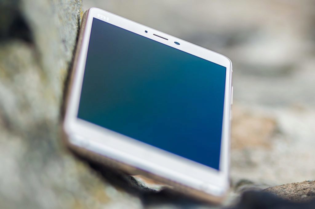 Xiaomi Mi4S - na skále
