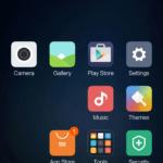 Xiaomi Mi5 – systém, domácí obrazovka