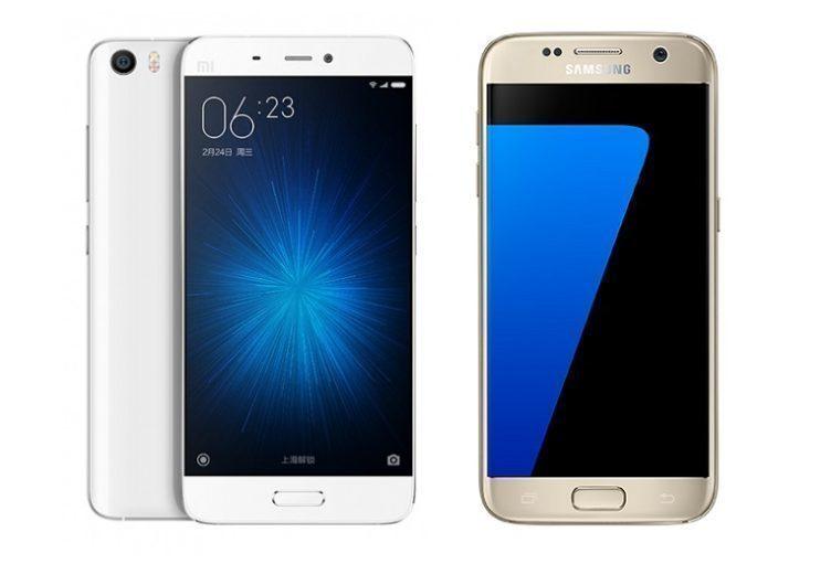 Xiaomi Mi5 vs Samsug Galaxy S7