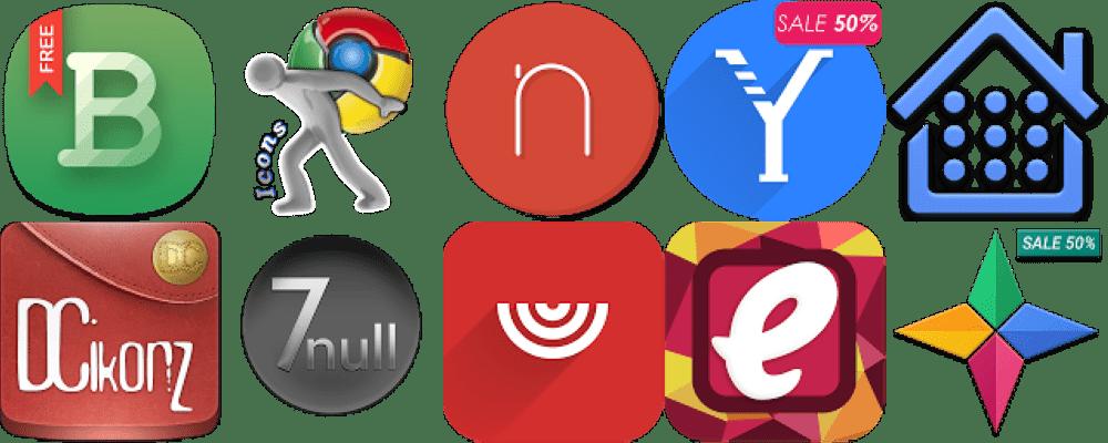 10 nejlepších balíčků ikon pro váš launcher
