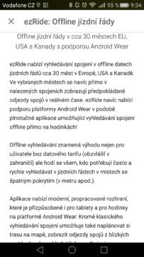 ezRide - prostředí aplikace7