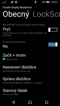 Launcher 8 WP style