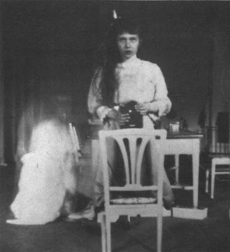 První celebrita: Anastázie Nikolajevna