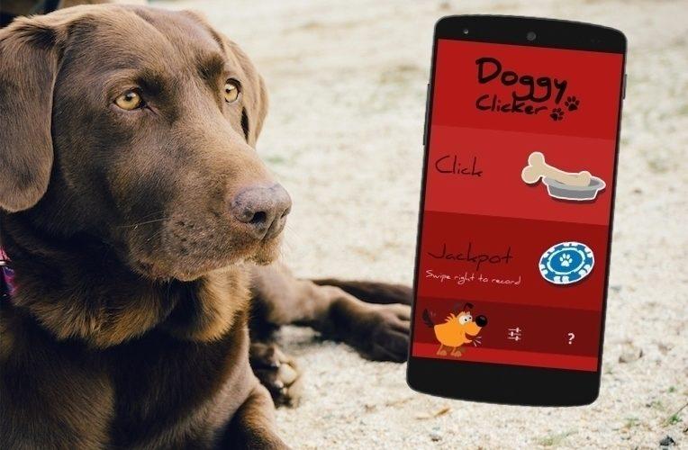 Android klikr doggy