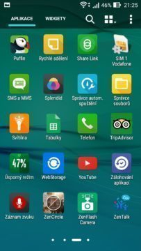 Asus Zenfone Max předinstalované app 3