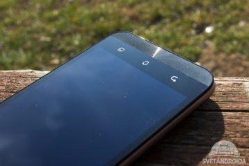 Asus Zenfone Max senzorová tlačítka