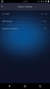 Elephone W2 – aplikace – systémová nastavení