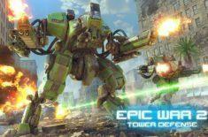 Epic War TD 2 sleva