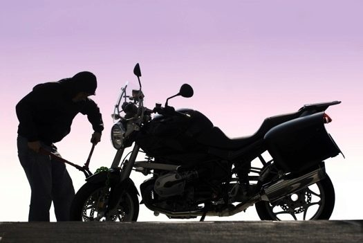 GPS lokátor motocykl