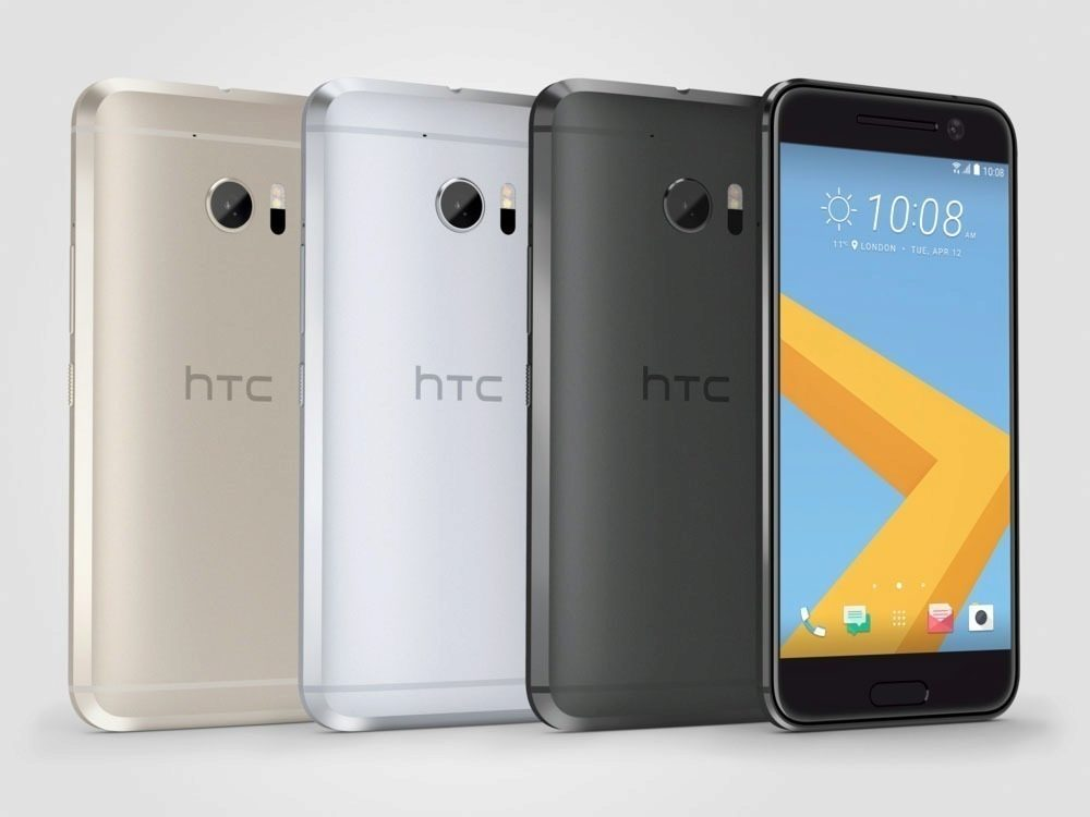 HTC 10_GroupShot_Gray Front
