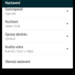 HTC Desire 820 –  aplikace fotoaparátu (1)
