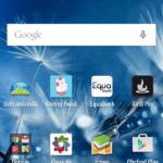 HTC Desire 820 –  domácí obrazovka