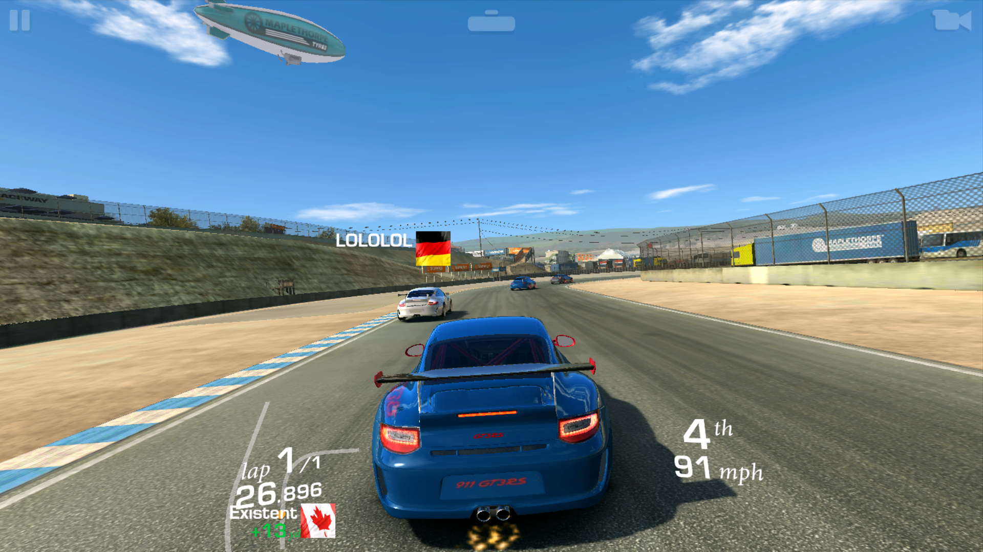 Huawei P9 Real Racing 3