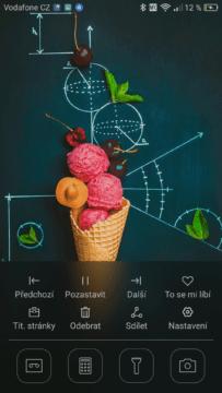 Huawei P9 Zamykací obrazovka 2
