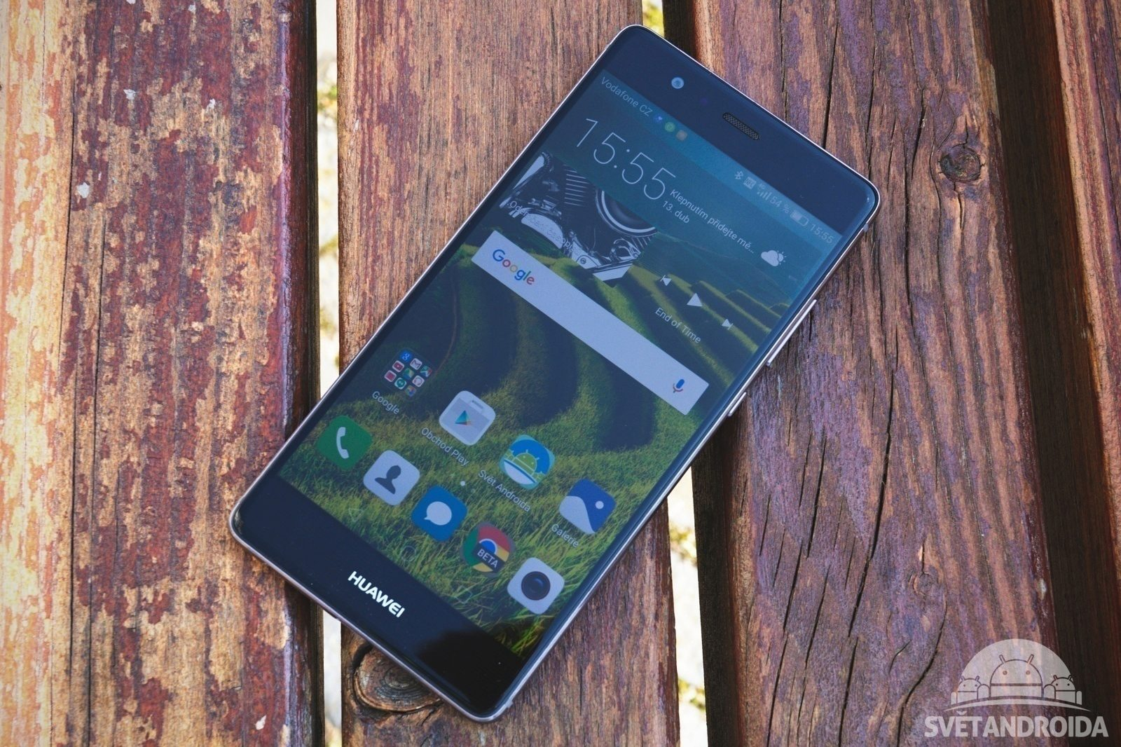 Huawei P9 displej