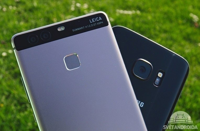 Huawei P9 vs. SGS7 titulka