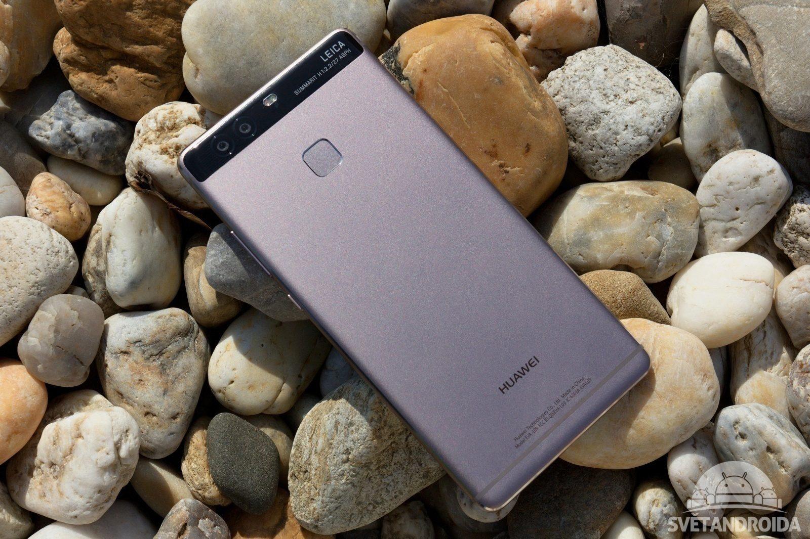 Huawei P9 zadní strana