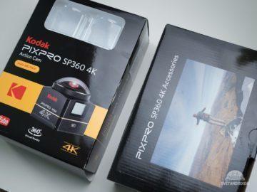 Kodak SP360 baleni 1