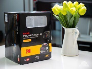 Kodak SP360 baleni 2