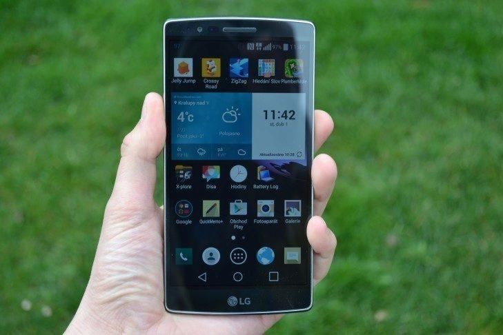 LG G Flex 2 -  displej telefonu