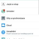 LG G Flex 2 – prostředí systému, menu nastavení