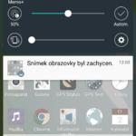 LG G Flex 2 – prostředí systému, notifikační lišta (1)