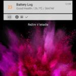 LG G Flex 2 – prostředí systému, zamykací obrazovka