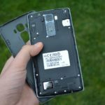 LG G Flex 2 –  sundaný zadní kryt
